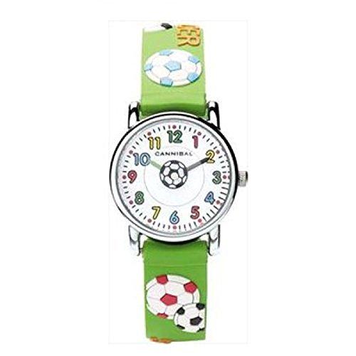 Cannibal CK198-11 - Reloj analógico para niño, correa de resina color verde