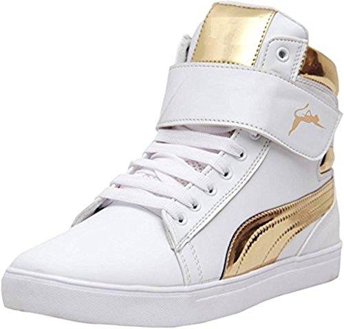 Jabra men white designer sneaker shoes