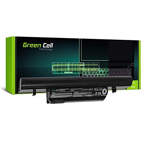 Green Cell Standard Serie PA3904U-1BRS PA3905U-1BRS Laptop Akku für Toshiba Tecra R850 R950 (6 Zellen 4400mAh 11.1V Schwarz)