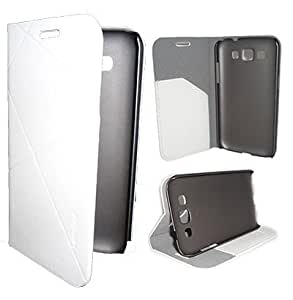 Generic VAVA Series Flip Cover for Samsung Galaxy Note 3 (White)