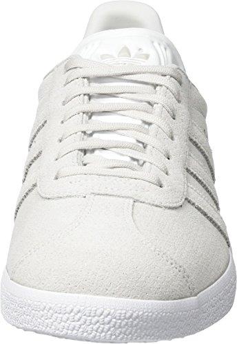 adidas Gazelle, Sneakers Basses Homme, Vert Gris (Grey One/Grey One/Gold Metallic)