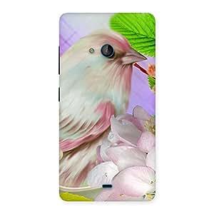 Spring Bird Back Case Cover for Lumia 540