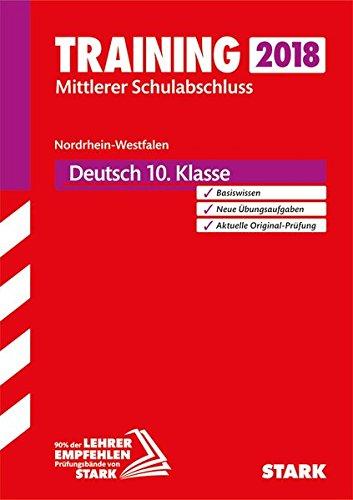 Training Mittlerer Schulabschluss NRW - Deutsch