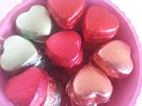 TMB Homemade HEARTSHAPE Premium Mix Chocolate Basket 32 PCS