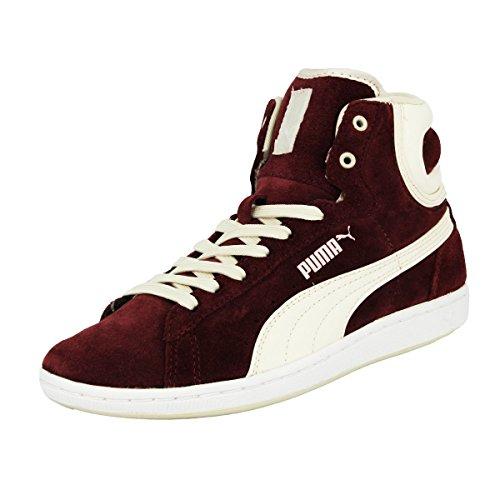 Puma WNS CROSS SHOT Scarpe Moda Sneakers Pelle Scamosciata Rosso per Donna