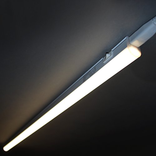 Briloner Leuchten 2379-106 A+, LED Unterbauleuchte, Unterbaulampe, Küchenlampe, Schrankunterbaulampe, Kunststoff, 10 W, Integriert, weiß, 87.3 x 2.2 x 3 cm