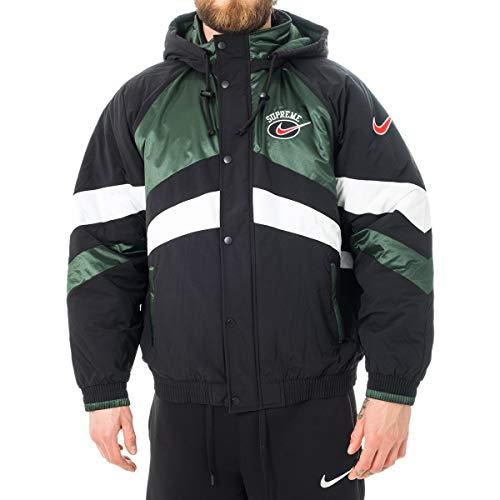 SUPREME Giubbotto Uomo Nike X Nike Puffy Jacket CD6074.010 (L - 010 Green) Herren Puffy Jacket
