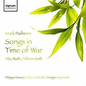 Alec Roth : Songs in Time of War
