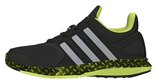 adidas - Hyperfast 2.0 K, Sneaker Unisex – Bambini Nero/Grigio/Giallo