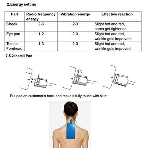 Zoom IMG-3 massaggio di occhi dorati attrezzatura