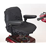 Elasticated waterproof mobility scooter / electric wheelchair seat cover