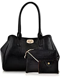 Mark & Keith Black Handbag (MBG 0101 BK)