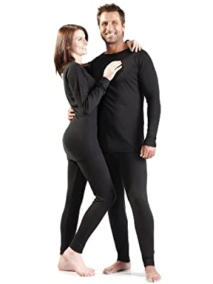 Ultrasport Men's Thermal Underwear Set with Quick-Dry Function
