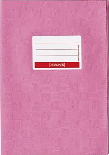 fthülle/Heftumschlag (A4, Folie, mit Namensschild) rosa (Rosa Folie)