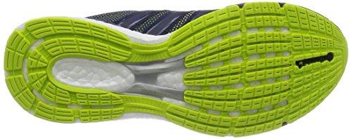 adidas Adizero Boston Boost 5 Tsf, Sneakers basses femme Gris - Grey (Solar Yellow/Midnight Grey/Ash Purple)