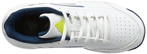 adidas Sonic Attack K, Chaussures de Tennis Mixte Enfant Blanc Cassé (Ftwbla/acetec/plamat)