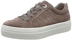 Legero Damen Lima Sneaker, Braun (Dark Clay 57), 37 EU