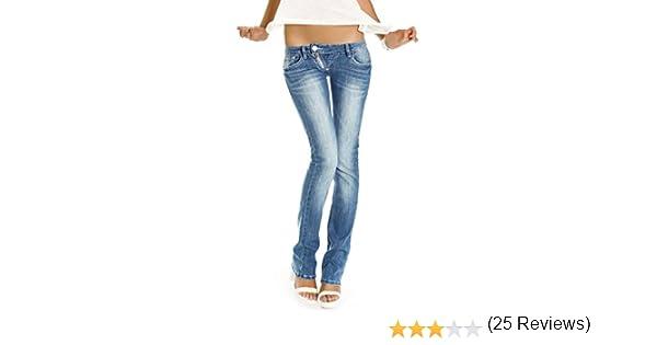 9bd361e27c6e5f Bestyledberlin Jeans taille basse jeans femme niveau hanches pantalon style  low rise j99a