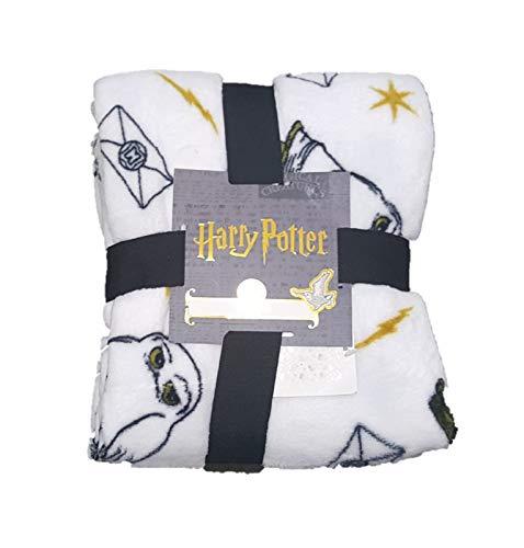 :-Harry Potter:- Manta de Forro Polar con diseño de búho