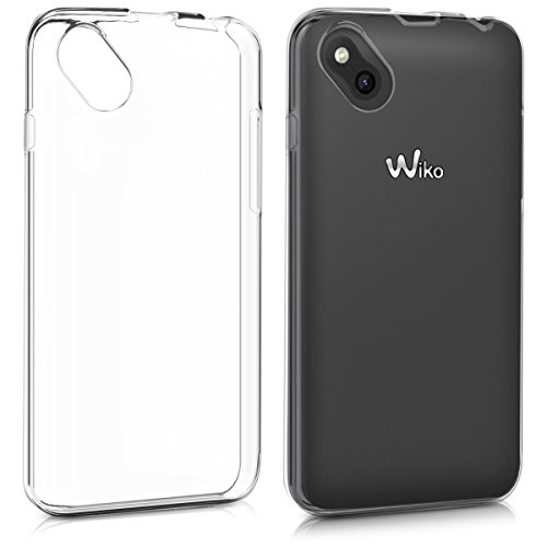 kwmobile Wiko Sunny Hülle - Handyhülle für Wiko Sunny - Handy Case in Transparent
