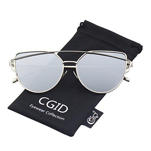 cgid-moderne-modische-spiegel-polarisierte-katzenauge-sonnenbrille-brille-uv400silber-silber