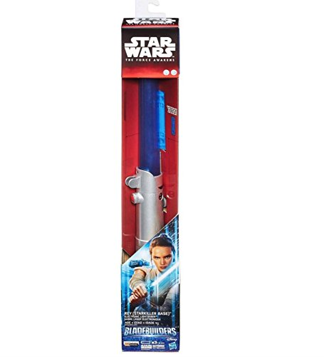 Star Wars: The Force Awakens Rey Lightsaber - Blue Blade, Rumble, Motion Sounds by Disney