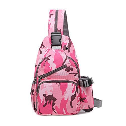 de Menschen Mode Brust Tasche männer umhängetasche umhängetasche kleinen Rucksack ()