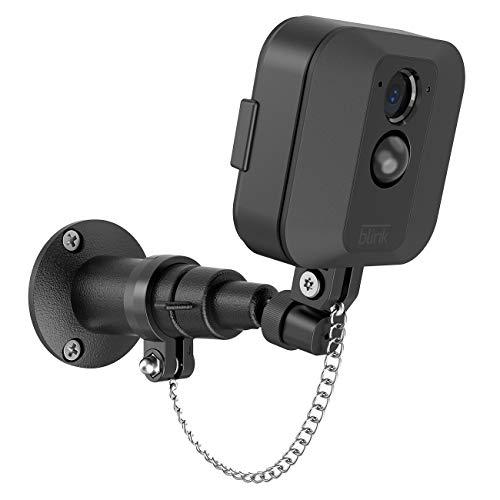 Sicherheits-Wandhalterung für Blink XT Kamera, Outdoor-Halterung, wetterfest, Schutz-Halterung für Zuhause, Sicherheitskamerasystem (1PACK Black) -