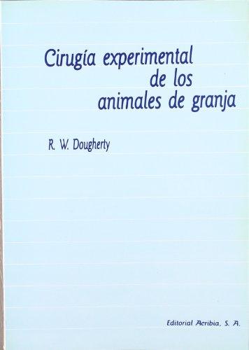 Cirugía experimental de los animales de granja