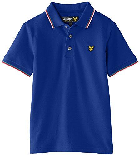 Lyle-Scott-Boys-Classic-Tipped-Plain-Polo-Shirt