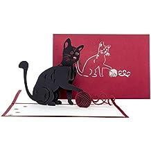 Suchergebnis Auf Amazon De Fur Katzen Geburtstagskarten Burobedarf