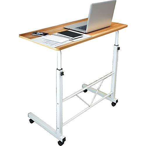 MyTables Kaffeetisch Verstellbarer Laptop-Schreibtisch Mit StäNder Und Rollen In Holzoptik-Espresso -
