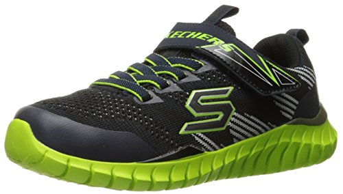 Skechers bambini ragazzi Spektrix scarpa da tennis, Navy / Little Black Kid (28)