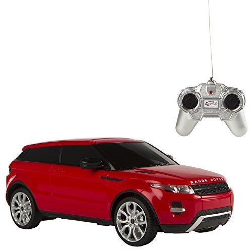 Rastar - Coche teledirigido 1:24 Range Rover Evoque, Rojo (75896)