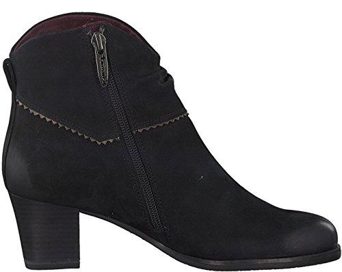 Tamaris Damenschuhe 1-1-25015-29 Damen Stiefel, Boots, Damen Stiefeletten, Herbstschuhe & Winterschuhe für modebewusste Frau Black