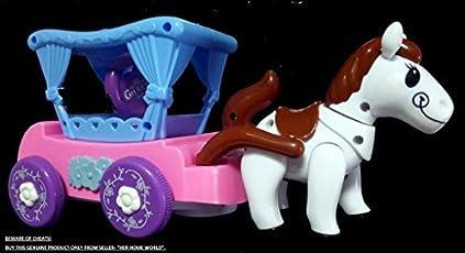 Her Home Smart Horse Cart With Motion, Lights, Sound & Obstacle Sensor.