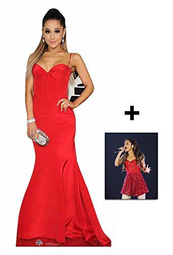 Ariana Grande Lebensgrosse Pappaufsteller - mit 25cm x 20cm foto