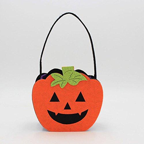 FairOnly Halloween-Kostüm, Filz, kreatives Vlies Geist, Kürbis Totenkopf, -
