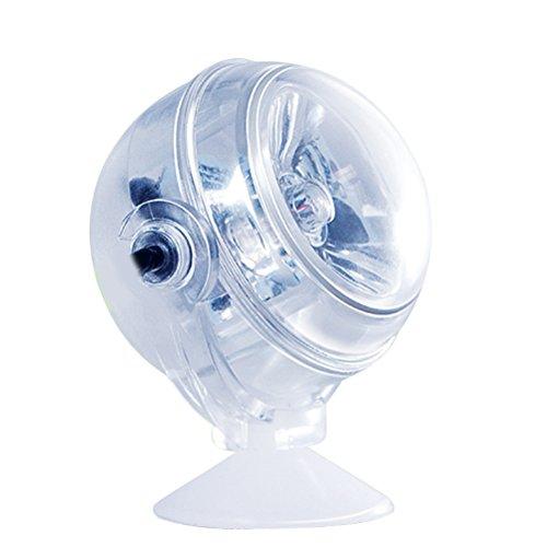 Licht, Linse, Dichtung (LEDMOMO LED Aquarium licht Unterwasser Lampe Scheinwerfer für Aquarium Fisch Tank Dekoration (Blau))