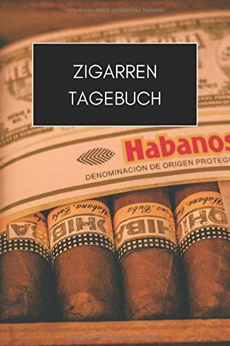 Zigarren Tagebuch: 6x9 Zigarren Buch, Logbuch oder Journal zur Dokumentation und Bewertung I Für Zigarrenliebhaber, Genussraucher I Zigarren Tasting (Habanos-cohiba)