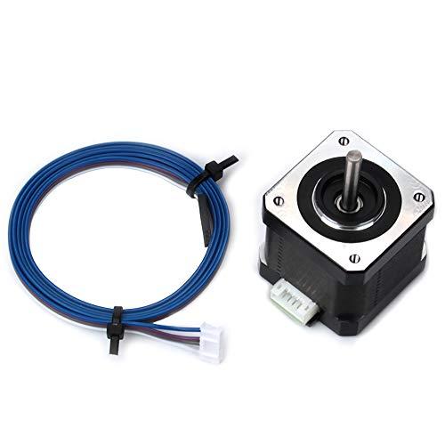 Stampante 3D motore, Fysetc Nema 17stepper Motor 42–4042–34motore con cavo per Estrusore x y Axis CNC RepRap Creality cr-1010s Ender 3Maker Select mini Prusa i3e più, 42-40, 1