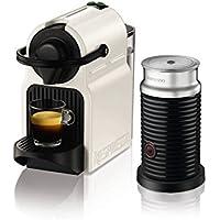 Nespresso Inissia Coffee Capsule Machine with Aeroccino3  by KRUPS - White