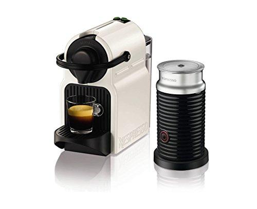 Krups Nespresso Inissia Coffee Capsule Machine with Aeroccino - White Test