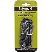 Lafuma Cuerdas elásticas para RSX/RSXA, 4 cuerdas, Negro, LFM2322-0247