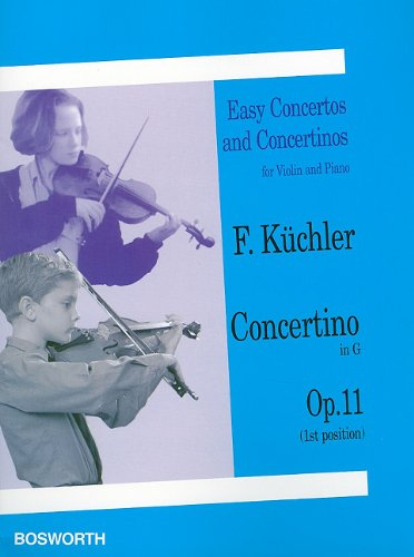 Ferdinand Kuchler: Concertino in G Op.11 (Violin/Piano)