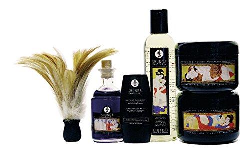 SHUNGA 340000091840 Carnal Pleasure Collection, Set (Body Powder Pleasures)
