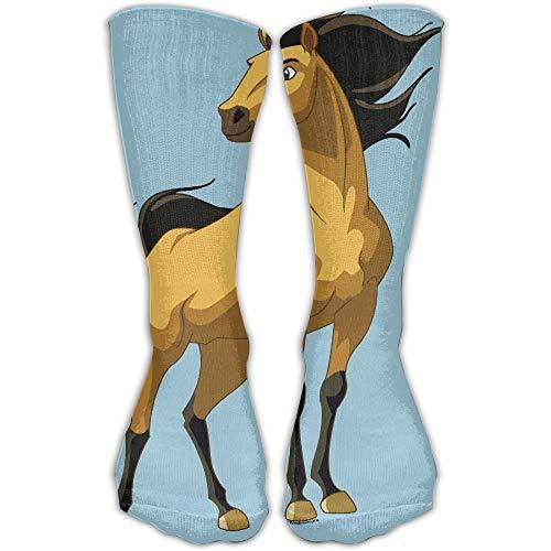 Women Men Classics Socks Spirit Stallion Of The Cimarron Athletic Stockings Long Sock One Size - Cimarron Tank