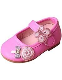 Malloom 0-2 Años Bebé Niña Chica Mariposa piruleta Sandalias Zapatillas Princesa Casual Zapatos