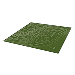 Terra Hiker Camping Zelt Tarp, Outdoor Plane, Wasserdicht Zeltplane mit Tragetasche (Dunkelgrün L: 240 cm x 220 cm)