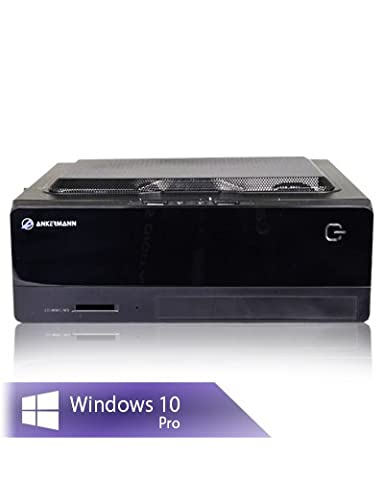 Ankermann-PC Verition Mini FUN, Intel Pentium G4560 2x3,50GHz, onBoard Intel HD Graphics 610, 8GB RAM, 2TB HDD, Microsoft Windows 10 Professional, Cardreader 7in1, EAN 4260370250627